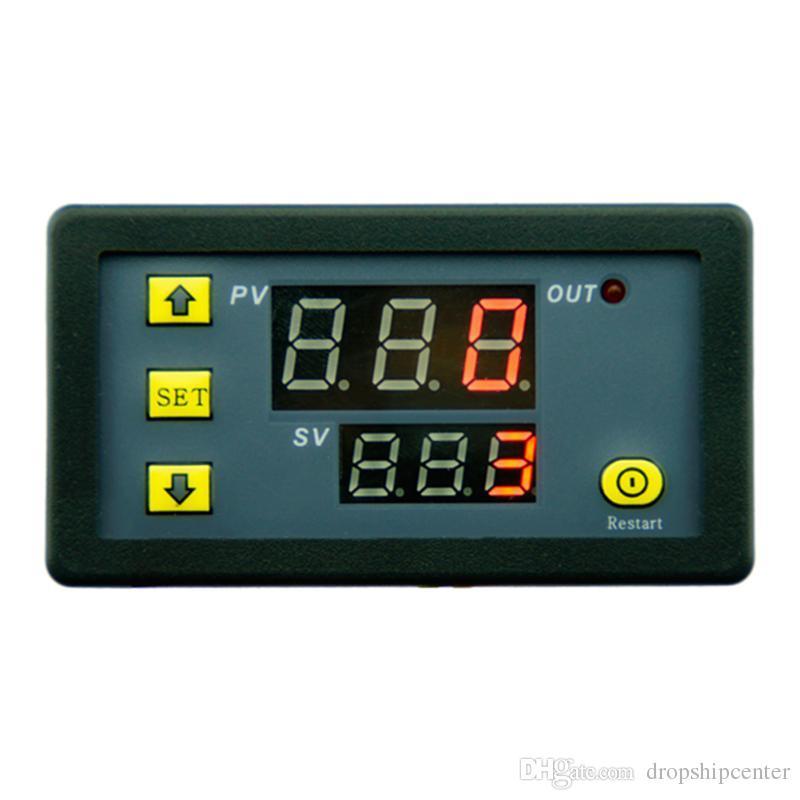 DC12V 20A Timer Module Timing Delay Relay Module Digital Delay Cycling Module 1500W 0-999h