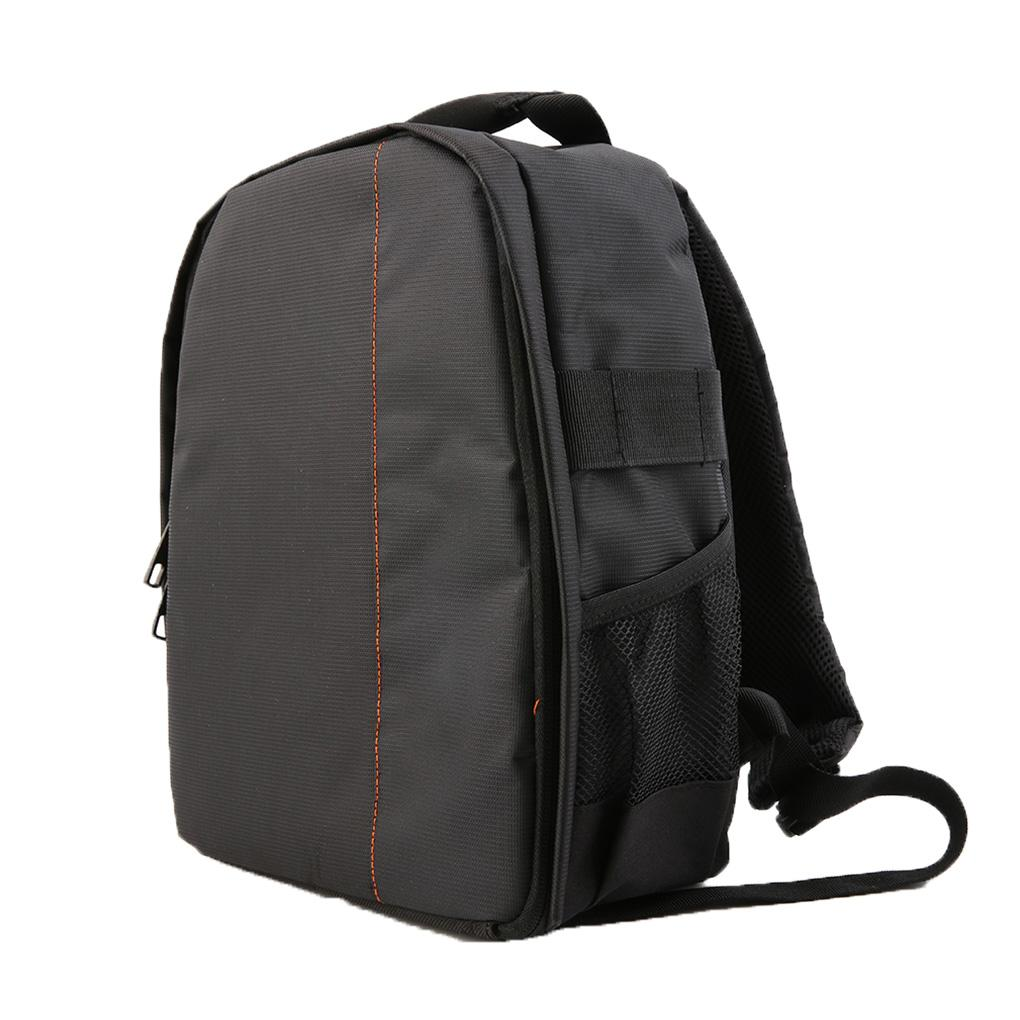 Camera Backpack Case DSLR Camera Lens Accessories Adjustable Padded Dividers Waterproof Backpack Camera Bag with Padded Bag Camera Cases Color : Black1, Size : 27.5 x 12.5 x 34CM