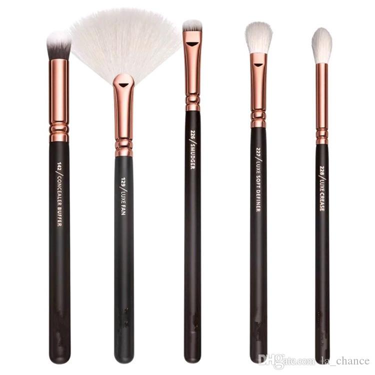 Dropshipping New Brand Brush 15pcs / Set Pennello per il trucco professionale Set Eyeliner Eyeliner Eyelind Eyeling Strumenti di cosmetici con BA