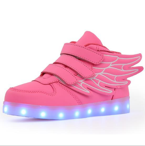 light up girl shoes
