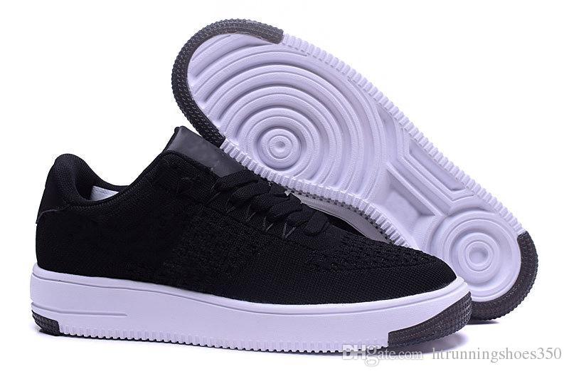 Großhandel Nike Air Force 1 One Flyknit Mode Männer Schuhe Low One 1 Männer Frauen China Freizeitschuh Fly Designer Royums Typ Atmen Skate Stricken