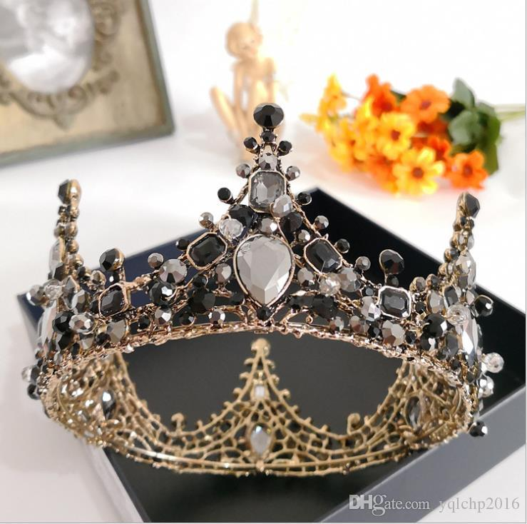 2017 new red Baroque crowns, crowns, crowns and crowns.