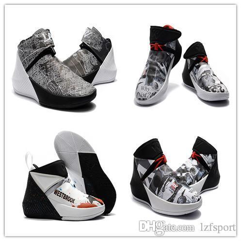 2018 nova venda Russell Assinatura Sapatos de Basquete Por Que Não Zer0.1 Espelho Imagem Sports Sneaker para Mens de Alta qualidade Zero um 0.1 lzfsport