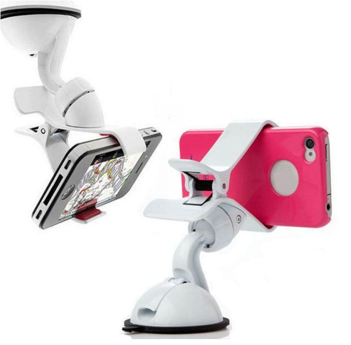 El más nuevo soporte universal para coche, parabrisas para coche, soporte para teléfono, para iPhone 5S 6S SE 7 8 X MP3 GPS para Samsung