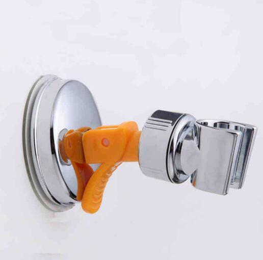 Banyo Duş Başlıkları Braketi Koltuk Banyo Ayarlanabilir Duş Başlığı Tutucu Raf Braketi Vantuz Duvara Monte Yedek Tutucu 150 adet