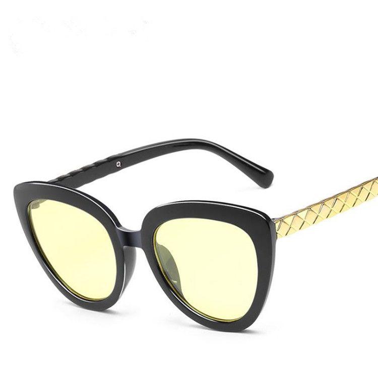 Moda Kadın Erkek Film Güneş Gözlüğü Adumbral Gölge Renk Gözlük Boy Aynalar Çerçeve Gözlük Gözlük Anti-UV Sun A ++ Afffs