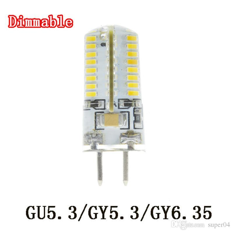 1x Lampada Led Gu5 3 Gy5 3 Gy6 35 Bulbs Light Dimmable Led Warm White 220v 6w 7w 8w 9w 3014 Led Lamp Light Spotlight Par20 Led Bulb 1 Watt Led Bulb