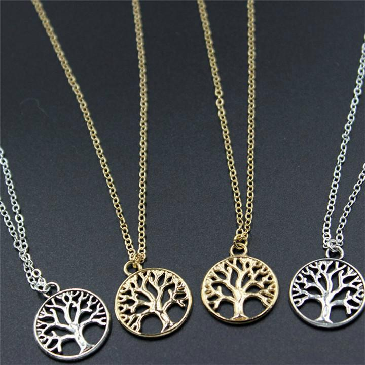 Wholesale Vintage Tree Of Life Pendant Necklaces Antique Silver Gold Plated Charm Necklace Peace Trees Sweater Chain Fine Jewelry Xmas Gift Kka2096 Red Pendant Necklace Custom Jewelry From Strafon 0 33 Dhgate Com