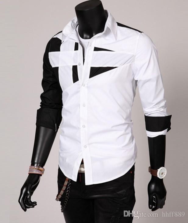 neue 2018 Herbst Winter Herren Langarm-Kleid Hemd der Männer beiläufige POLO kleine Pferd Shirts Mode USA Marke RL Oxford Sozial-Shirt