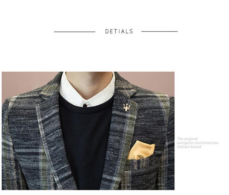 Mens Designer Blazers Jacket Suit (5)
