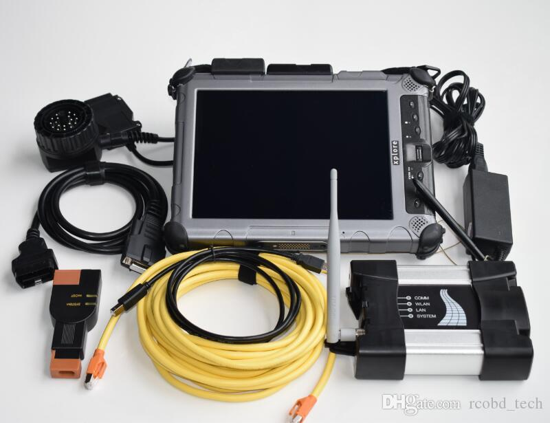For bmw icom next wifi with laptop ix104 tablet i7 newest with 480gb ssd diagnostic tool ready to use