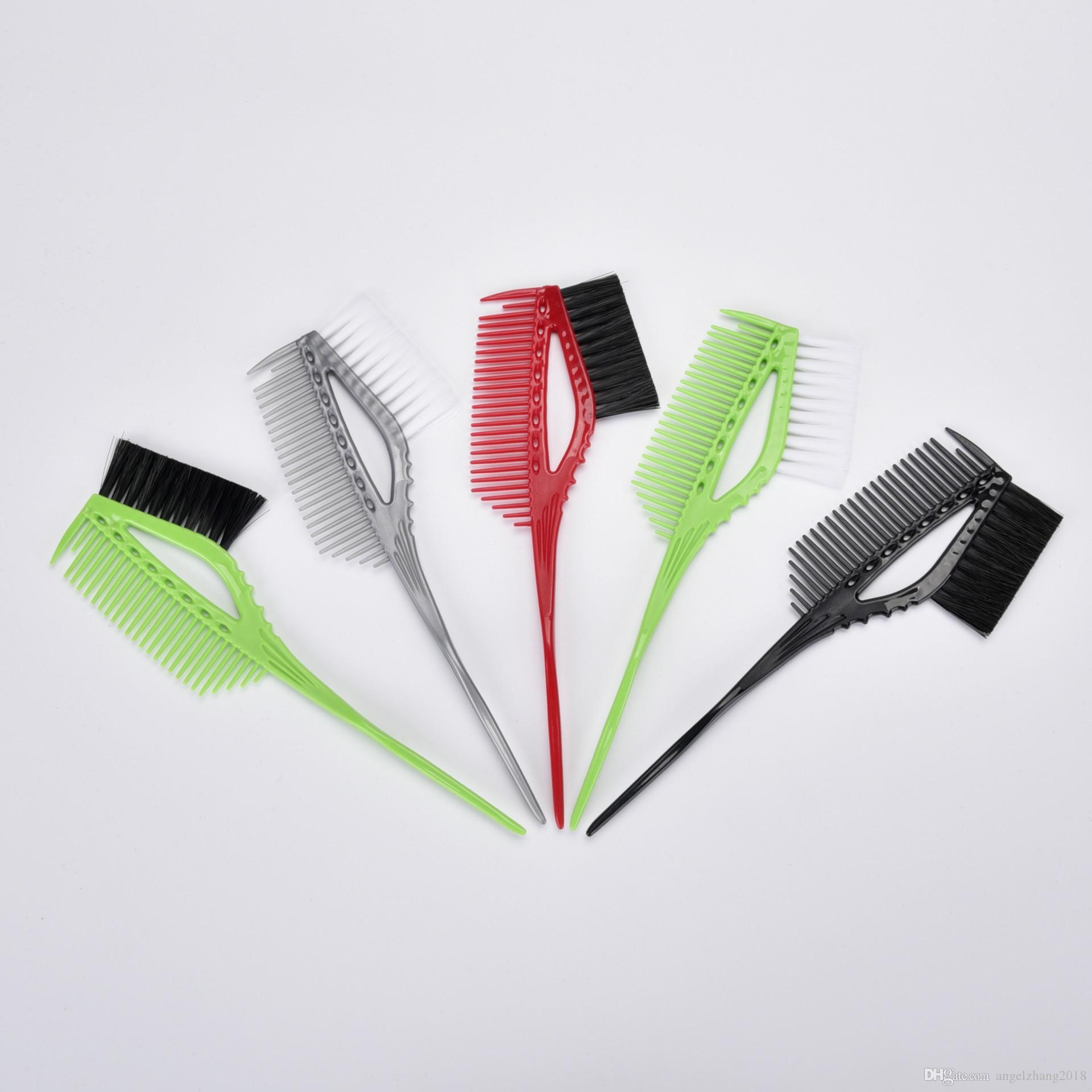 새로운 헤어 컬러 염색 색조와 헤어 브러쉬 미용이 도구 머리카락 살롱 전문 염색 브러쉬 색칠 빗 살롱 이발 도구