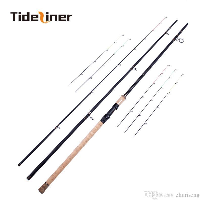 3.6 m 3.9 m Alimentador vara de pesca três quivertips * 2 Quiver 90g 120g 150g 180g 230 g carpa haste de fibra de carbono vara de giro do rio