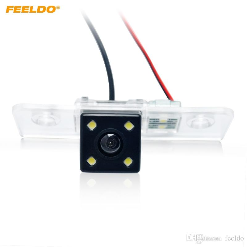 FEELDO Special Rear View Car Reverse Backup Camera With LED light For Skoda Octavia Mk2(1Z)(2004-2012) #4061