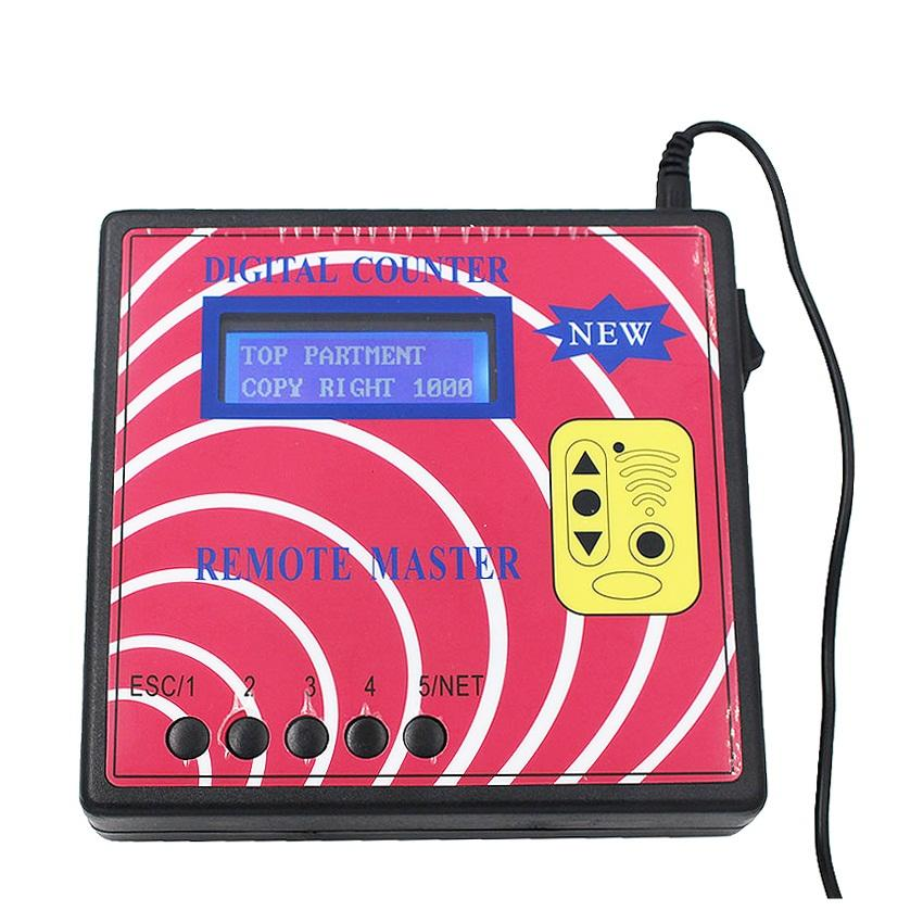 2018 New Digital Counter Remote Master Key Programmer,Frequency Meter Fixed/Rolling Copier RF Remote Controller
