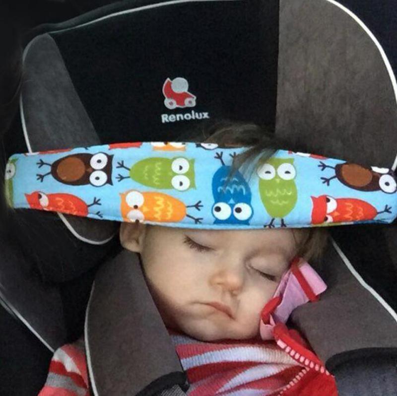 Infant Head Safety Belt Children 25 Style Adjustable Nap Sleep Holder Belt Car Seat Fixing Band Strap Baby Carriage Bed Protective Belt