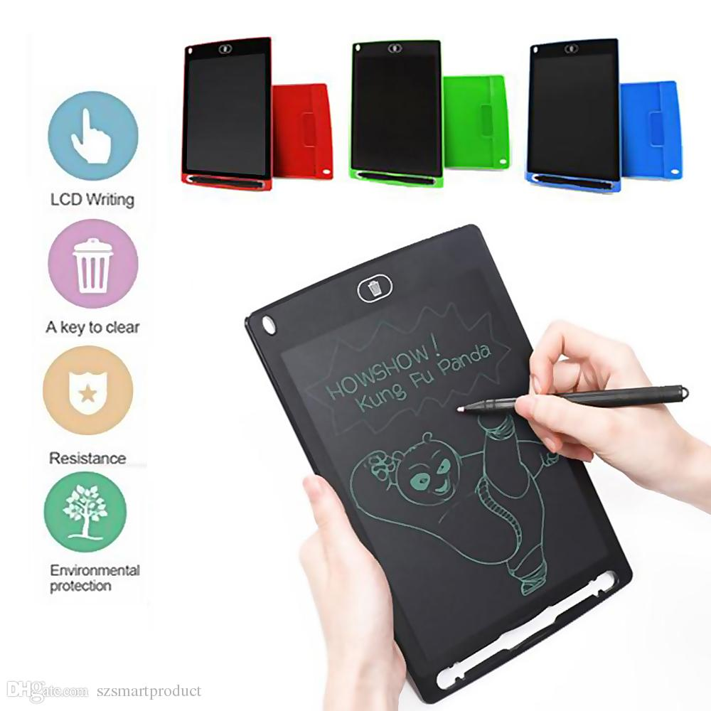 """8.5 inch LCD Writing Tablet Drawing Tablet Board Paperless Digital Notepad Rewritten Pad for Draw Note Memo Remind Message 8.5"""""""