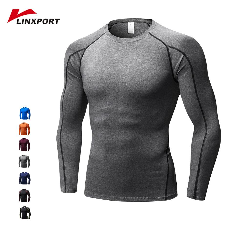 Men/'s Outdoor Quick Drying Long Sleeve T-shirt Sports Tee Running Gym Shirts USA