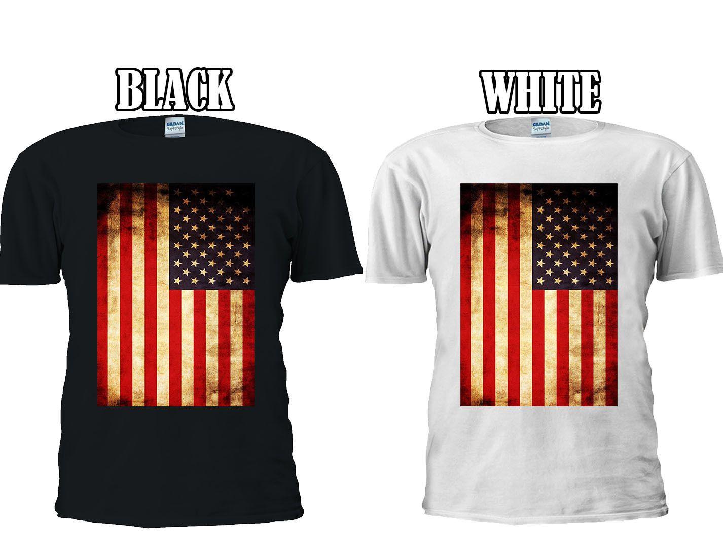 Flag Of The United States Of America T-shirt Vest Tank Top Men Women Unisex 1305