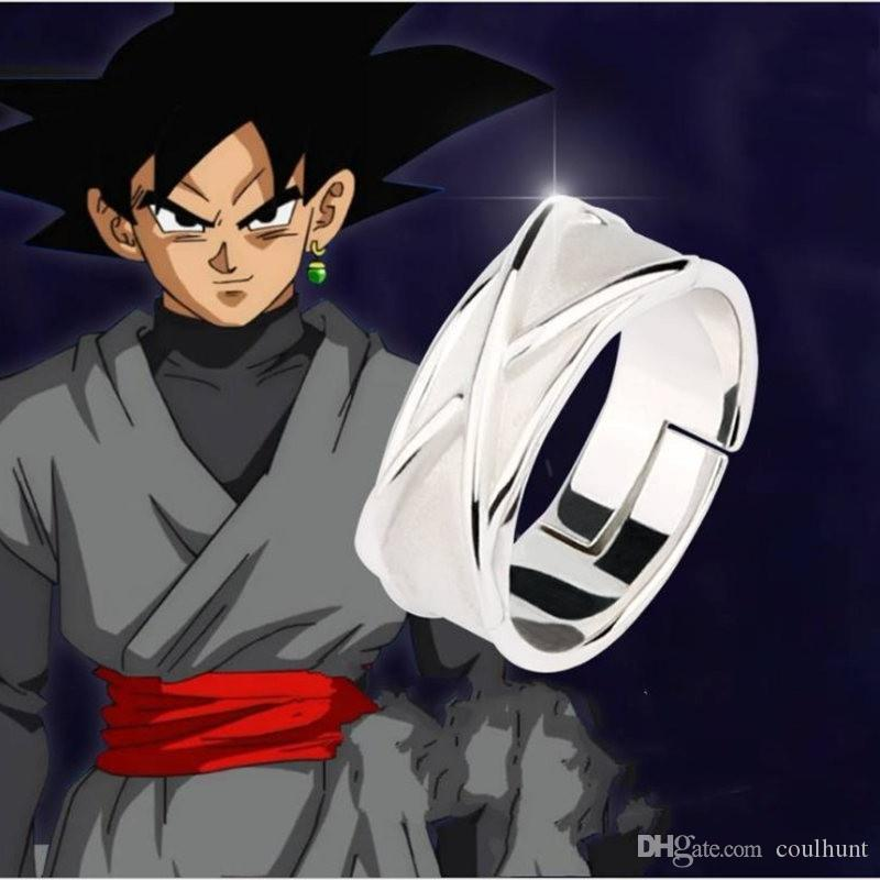 Anime DragonBall Z Dragon Ball Finger Ring Alloy Cosplay Necklace Pendant Gift