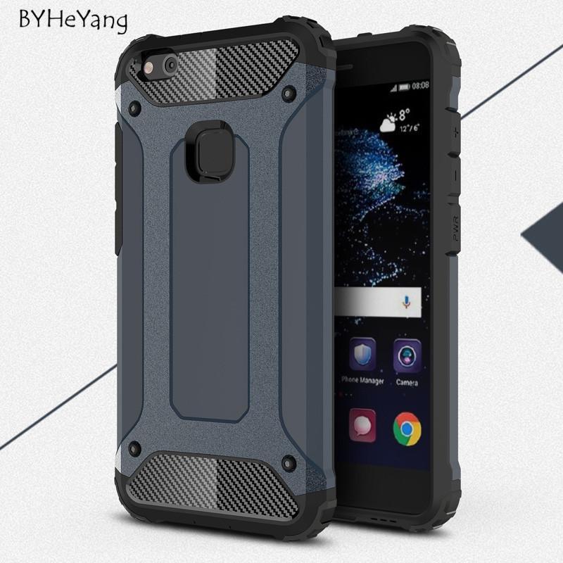 For Huawei P10 Lite Case P10 Lite Cove Slim Armor Silicone PC ...