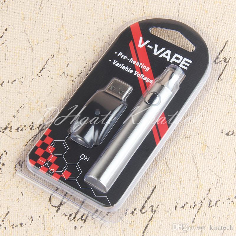 510 التسخين البطارية 650 مللي أمبير vape الأقلام متغير الجهد ecigarette شعبية
