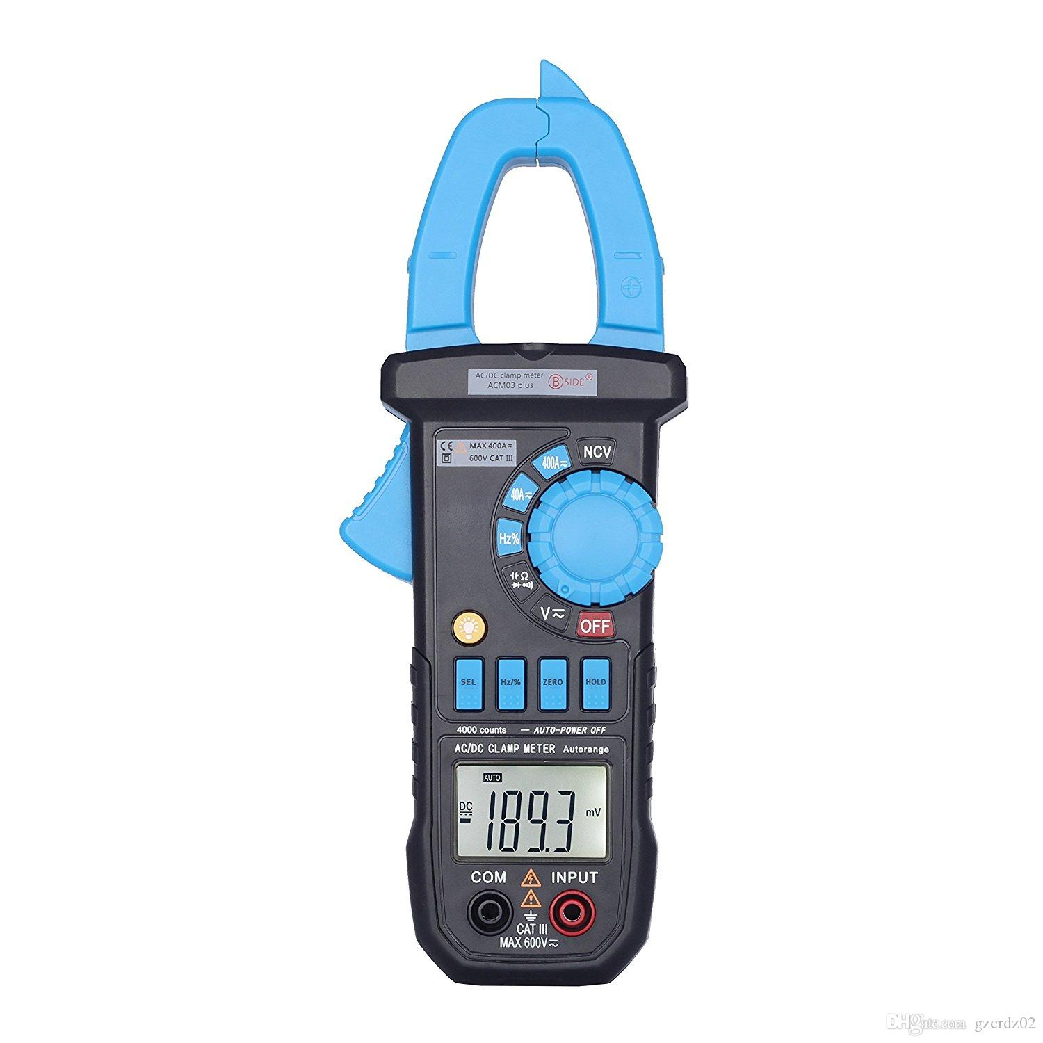 ACM03 plus Auto Range Digital AC / DC Clamp Meter voltmeter Multimeter NCV Frequency Capacitance Tester