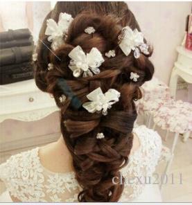Bride's hand gauze beads, headwear, hair, red wedding accessories, white wedding dress accessories.