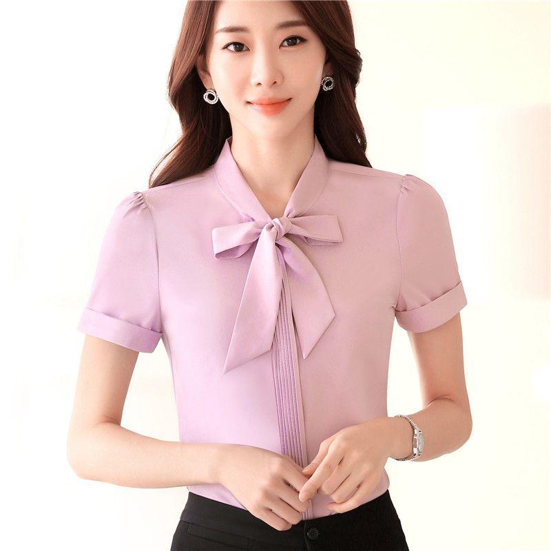women shirt with tie