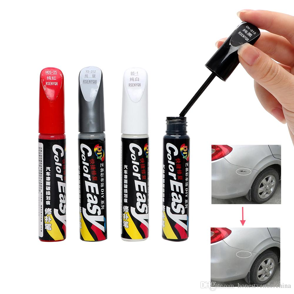 2Pcs Car Scratch Repair Fix it Pro Auto Paint Pen Professional Car-styling Scratch Remover Magic Maintenance Paint Care 4 Colors