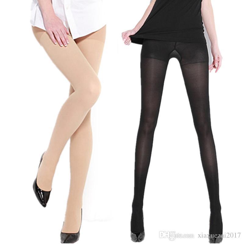Plus la taille M-XL mode noir chaussettes femmes médias jarretelles taille haute bas collants panty tricot net pantyhose pantalon maille lingerie