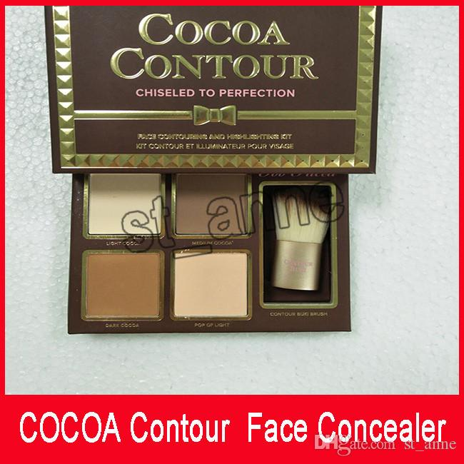 In Stcock COCOA Contour Kit Highlighters Palette Nude