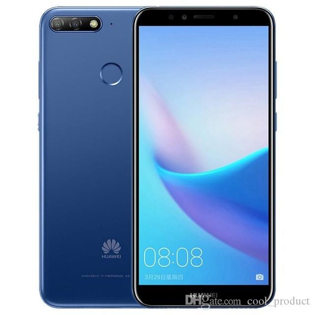 Original Huawei Enjoy 8e 4G LTE Teléfono celular 3GB RAM 32GB ROM Snapdragon 430 Octa Core Android 5.7 pulgadas 13MP ID de huella digital Teléfono móvil inteligente