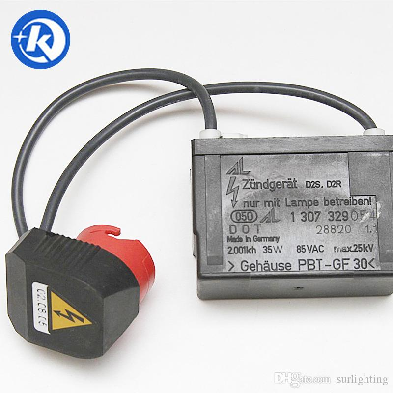 OEM HID Xenon D2 Igniter Socket Starter AL-2pin 1 307 329 054 for 00-02 Mercedes S-class 01-04 SLK-class