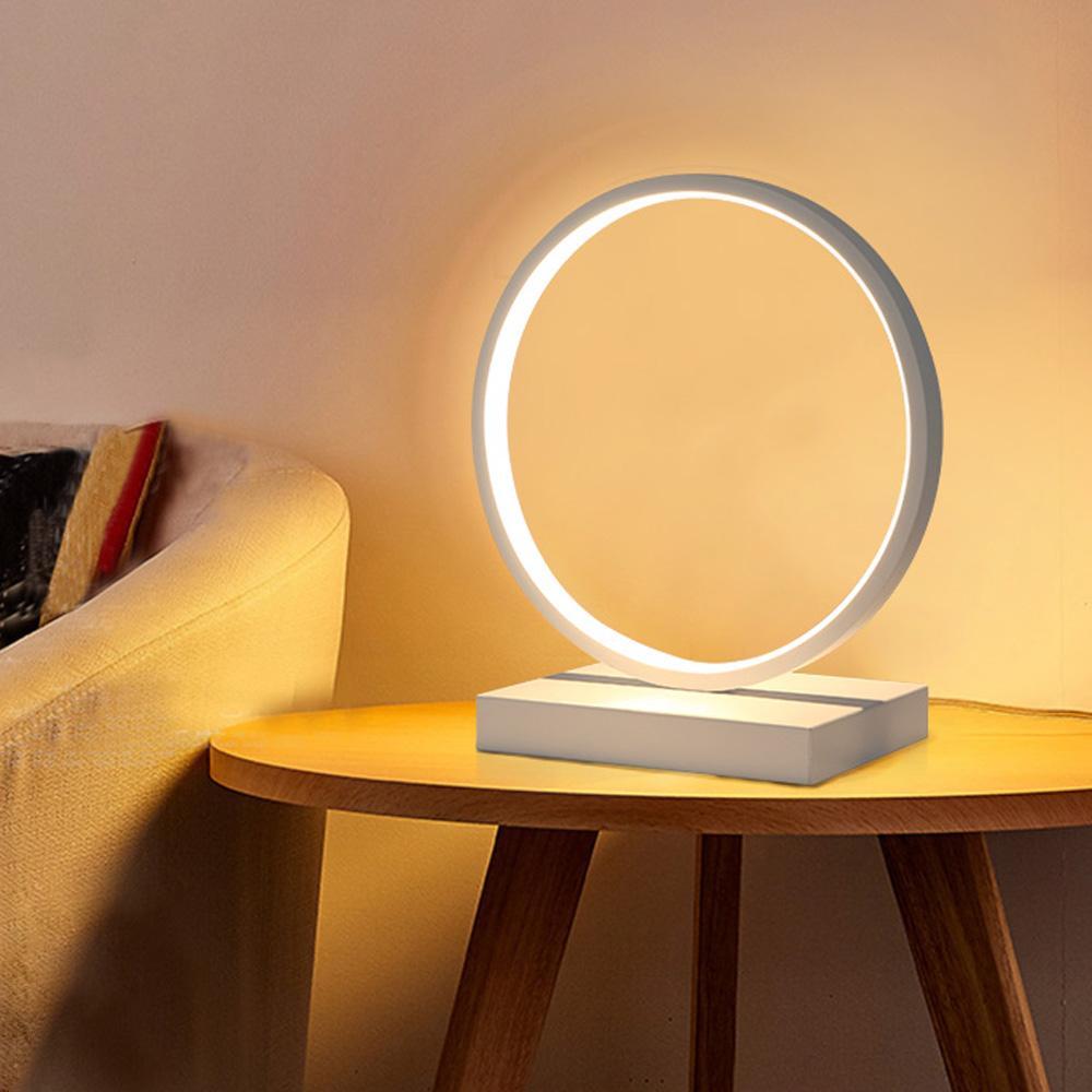Led Table Lamp Desk Light Bedside Tafellamp Book Lighting Reading Fixture Table Light Bedroom Living Room Indoor Home Decoration
