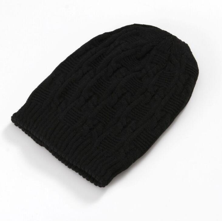 Berretto in maglia elasticizzata morbida per uomo e donna. Cappellino per berretto invernale a coda di cavallo