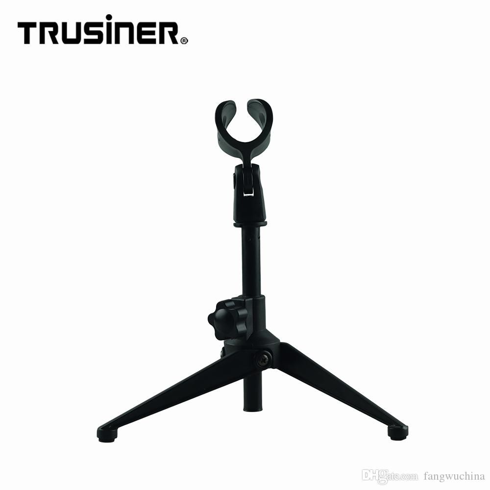 Top Quality Portable Desk Table Desktop Tripod Height Adjustable Microphone Stand Clamp Holder for Condenser Recording Mic