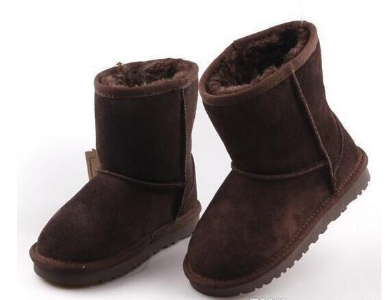 Горячие продажи новый реальный Австралия 528 высокое качество дети мальчики девочки дети детские теплые ботинки снега подростков студентов снег зимние сапоги быстрая доставка