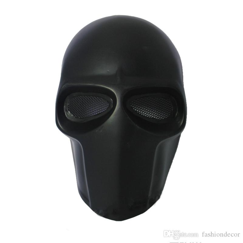 Army of Two party Mask Fibreglass Tactical Airsoft Paintball Helmet (Black) dance mask Safety Mask Guard