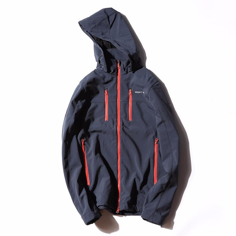 Мужчины; S осень Softshell открытый куртка Куртка мужчины