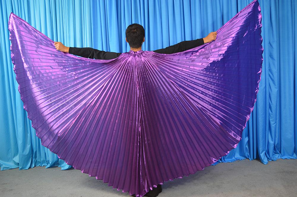 Angle heißer Verkauf Flügel ägyptischen Ägypten Bauchtanz Kostüm Isis Flügel Tanz tragen (nicht Stick) 11 Farben