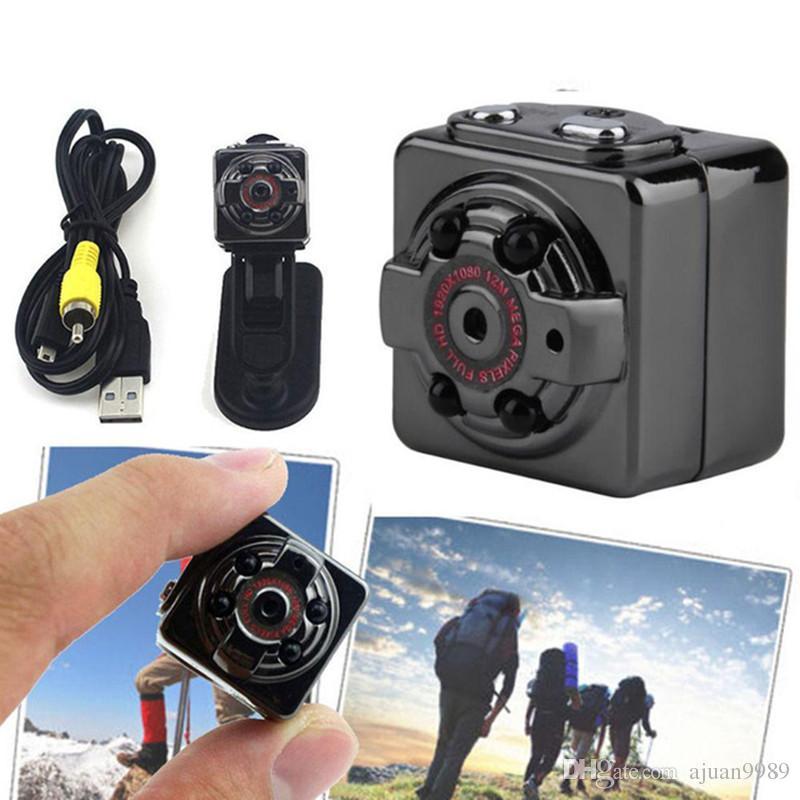 SQ8 Mini Câmera Do Carro DVR HD 1080 P Night Vision Camera Mini Detecção de Movimento Camcorder Classe 10 Gravador De Vídeo Micro Câmera Do Carro