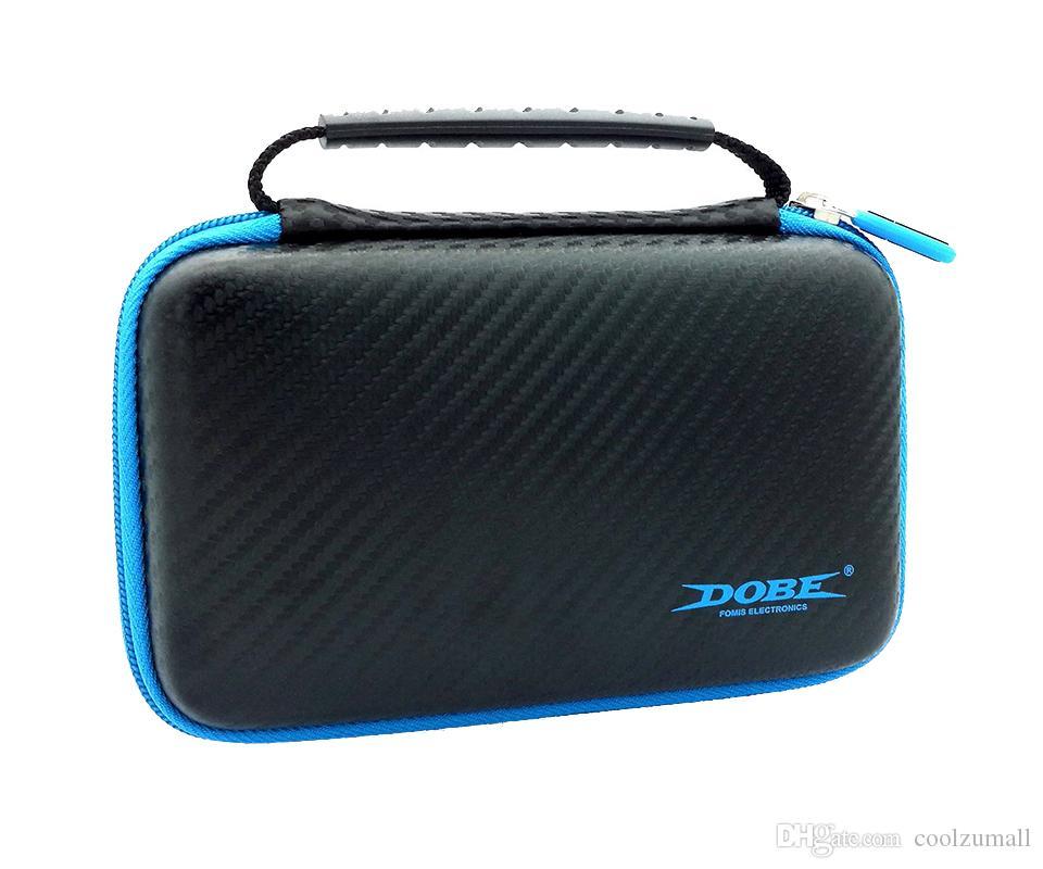 Carry Case for Nintend New 2DS LL / XL EVA armazenamento caso com 2 Tela películas protetoras 1 Stylus 8 Game Cards armazenamento Travel Bag