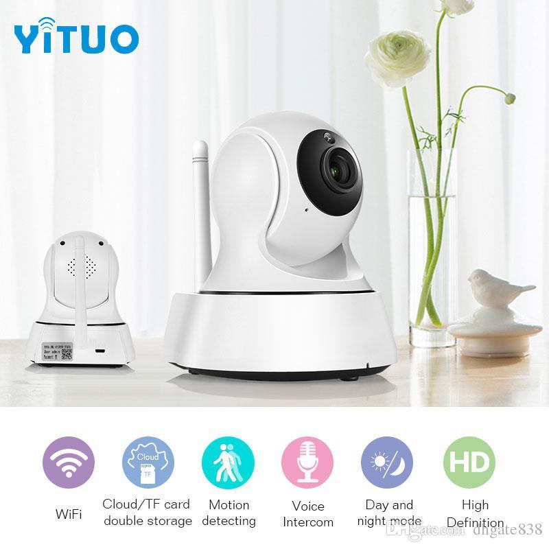 Home Security IP Kamera Wi-Fi Wireless Mini Netzwerk Kamera Überwachung Wifi 720P Nachtsicht CCTV Kamera Baby Monitor YITUO