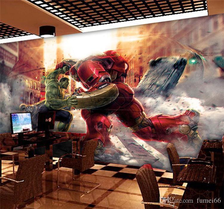 Compre Personalizado Dos Desenhos Animados 3d Marvel Hero League