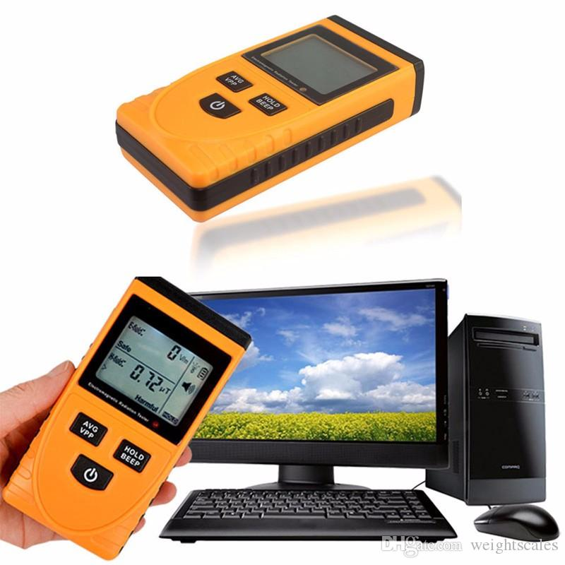 Digital LCD rilevatore di radiazioni elettromagnetiche GM3120 Dosimetro Tester Elettrodomestici Apparecchiature per ufficio Rilevatori di radiazioni