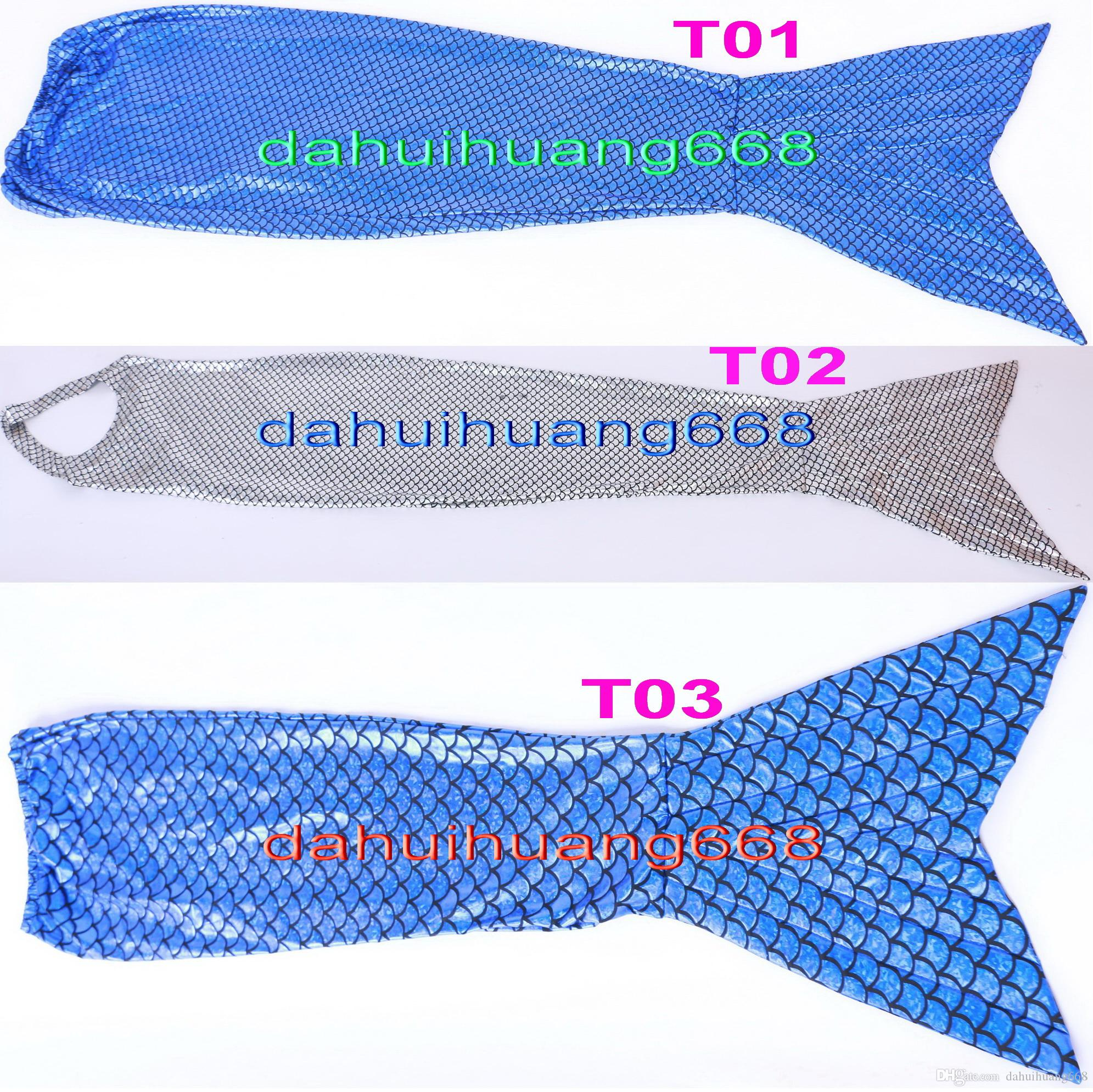 Sexy Fish Scales Mermaid Tail Suit Costumes New 3 Color Shiny Lycra Metallic Fish Scales Tail Suit Catsuit Costumes Sexy Tail Suit DH135
