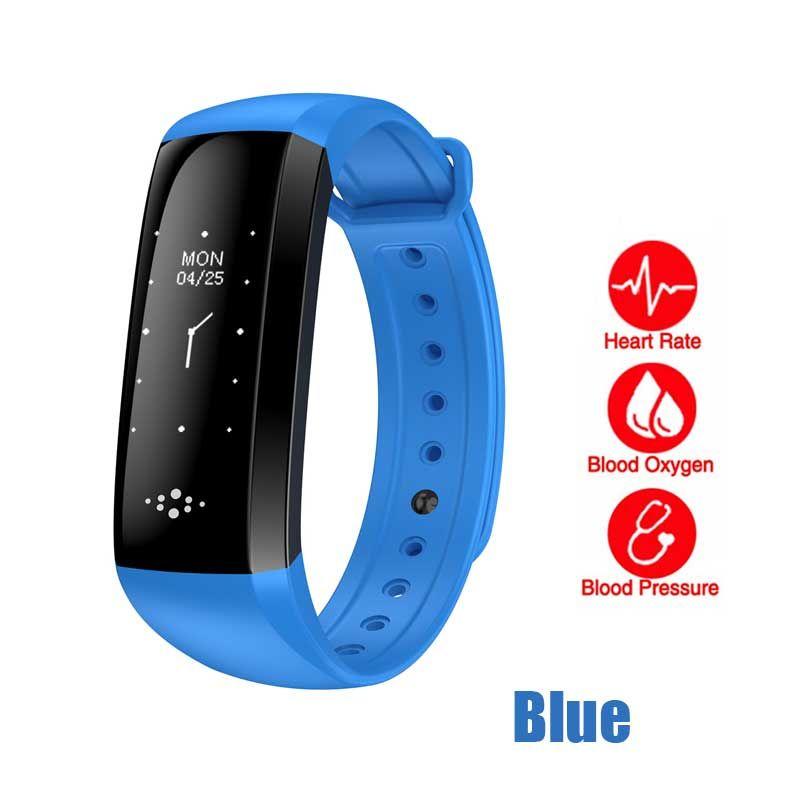 Braccialetto Smartband della vigilanza di frequenza sanguigna del braccialetto di frequenza cardiaca della fascia astuta di M2S Smartband per il braccialetto astuto di sport di androide di iOS con il pacchetto