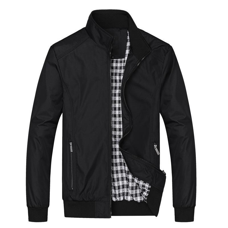 Jacket Men Fashion Casual Loose Mens Jacket Sportswear Bomber Jacket Mens jackets men and Coats Plus Size M- 5XL