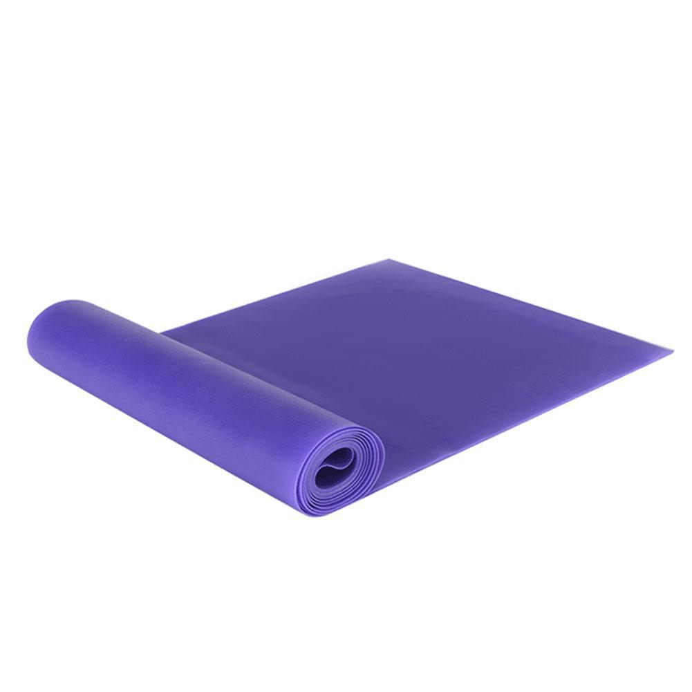 Faixa de equipamento de fitness de tensão de ioga resistência de trem de força elástica TPE cinta banda elástica de ioga